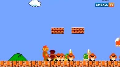 Марио слетел с катушек [Прикол]