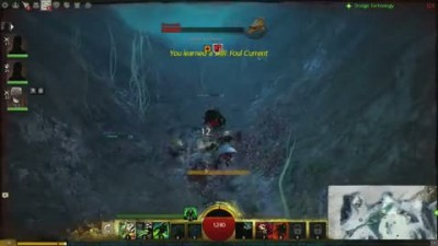 "Guild Wars 2 ""Taking a Dive Gameplay Video"""