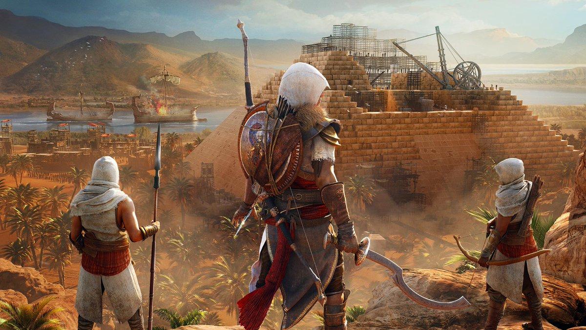 Assassin's Creed Origins— Всеть утекли первые кадры игры