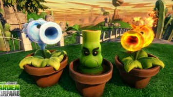 Plants vs. Zombies: Garden Warfare выйдет на PS3 и PS4