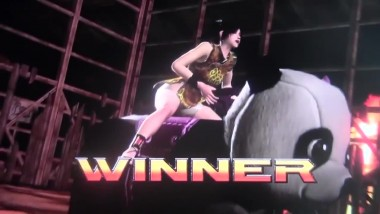 Virtua Fighter 5 Final Showdown: Leo vs Ling Xiaoyu - Epic Cutscene