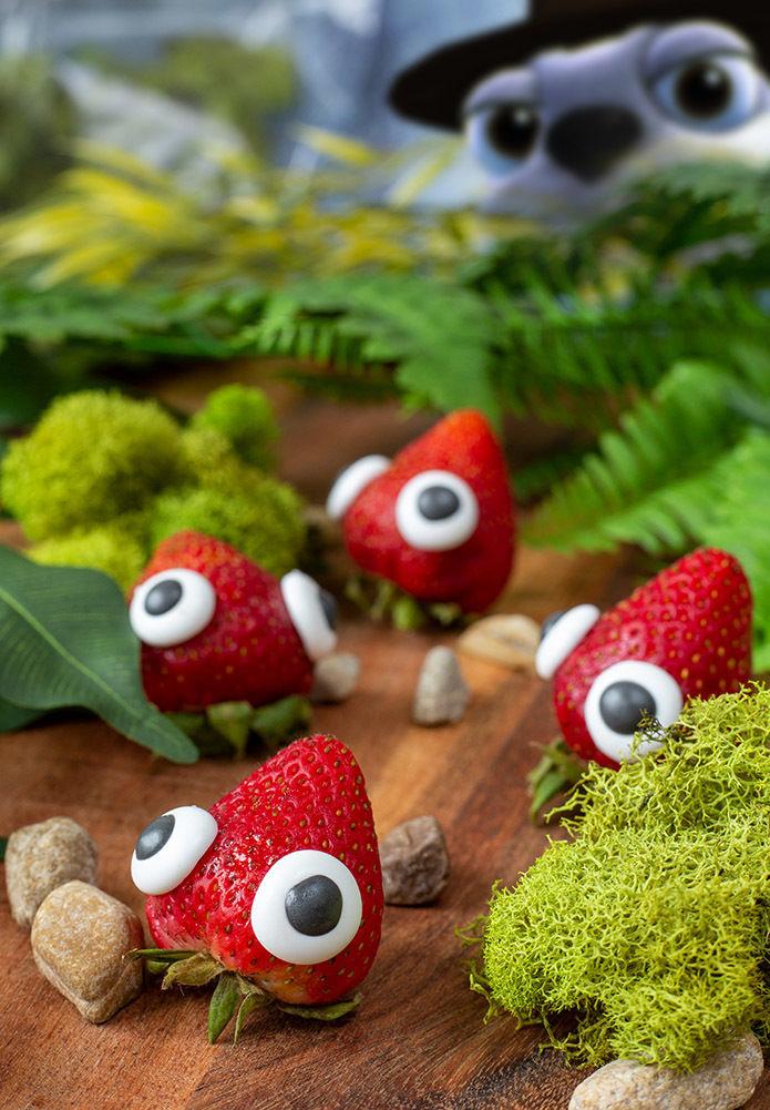 Скушай живую клубничку: Существ из Bugsnax для PlayStation 5 воссоздали в форме еды