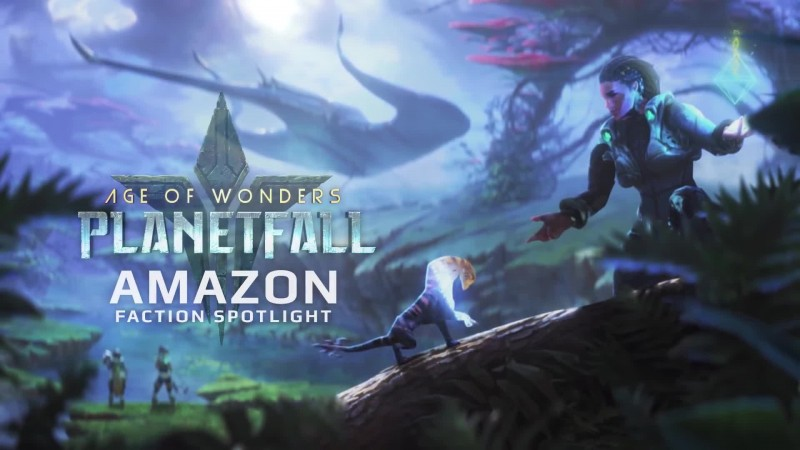 Age of Wonders: Planetfall: Новая раса - Амазонки