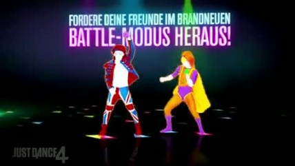 Just Dance 4 - Gamescom 2012 Trailer