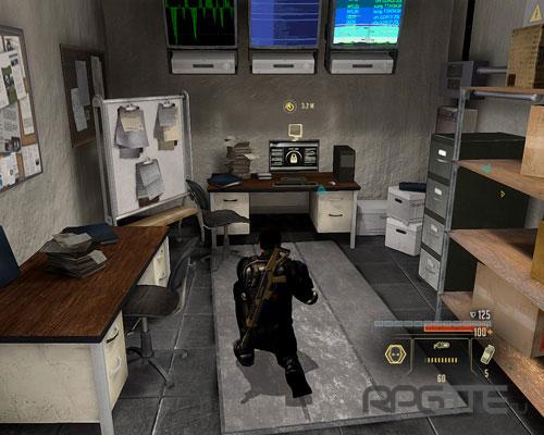 Компьютер службы безопасности