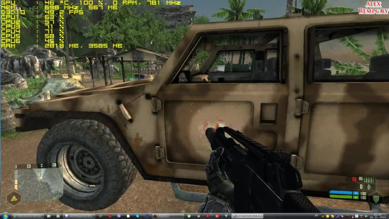Crysis 1 запуск на слабом компьютере (ОЗУ 4 ГБ, GeForce GT 630 1 ГБ)