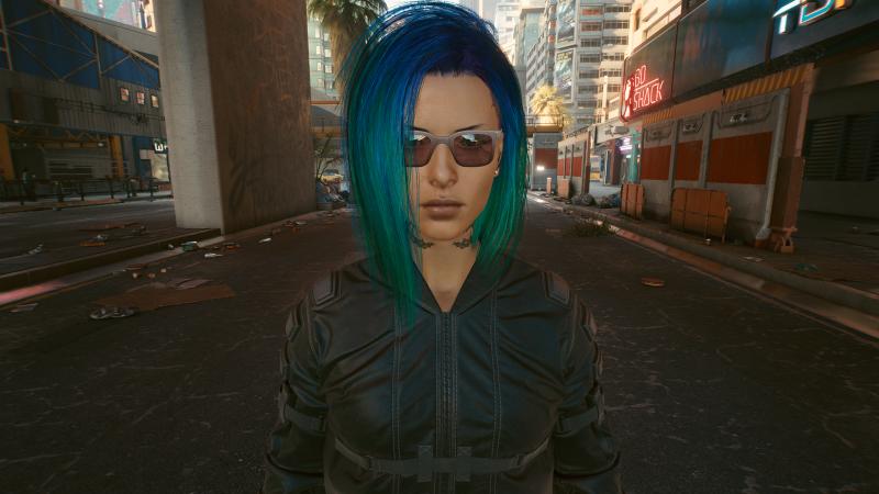 Мой персонаж до установки мода(эти очки заменятся)