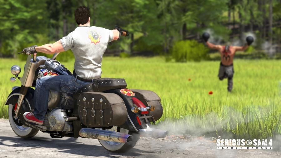 Короткий геймплейный ролик Serious Sam 4 из Твиттера разработчиков