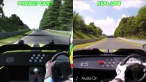 "Project CARS ""Project CARS vs Real Life ����� �� Nordschleife"""