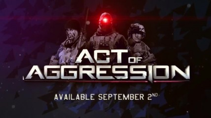 "Act of Aggression ""Релизный трейлер"""