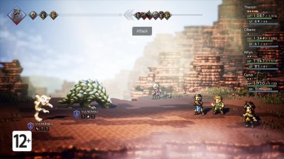 OCTOPATH TRAVELER - оценки критиков (Nintendo Switch)