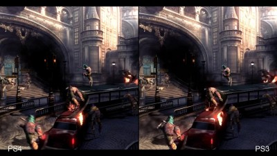 "Devil May Cry 4 Special Edition ""Сравнение версий для PS4 vs Xbox One/PC/PS3 (Digital Foundry)"""