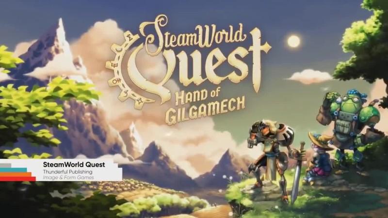 Трейлер SteamWorld Quest: Hand of Gilgamech