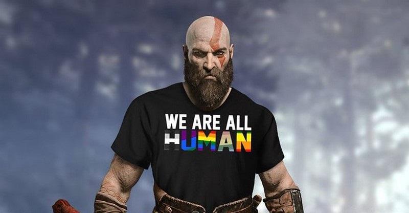 Создатель God of War заявил, что Кратос бисексуал. Но это был троллинг