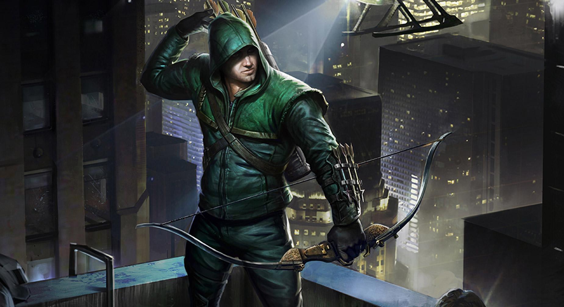 раздумывая, зеленая стрела арты худела первый раз