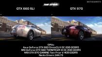 The Crew - ��������� ������ GTX 660 SLI vs GTX 970