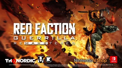 Анонс трейлер Red Faction Guerrilla Re-Mars-tered Edition - Switch
