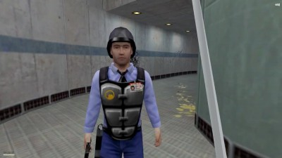 So I installed a mod for half life - Half Screwed [Демонстрация модов]