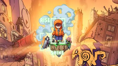 Rise & Shine от Adult Swim Games выходит на PS4