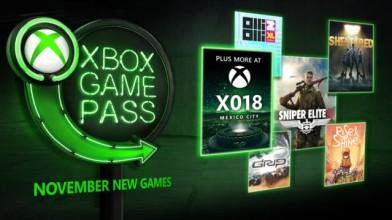 В ноябре в Xbox Game Pass появятся Sniper Elite 4, Grip и другие игры