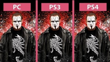 Графика в WWE 2K16 - PC vs. PS3 vs. PS4