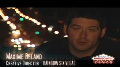 Rainbow Six: Vegas Video Diary #1