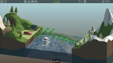 Poly Bridge - Давай построим мост ?