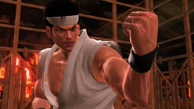 "Yakuza 6 ""Демонстрация встроенной в Yakuza 6 игре Virtua Fighter 5: The Final Showdown."""