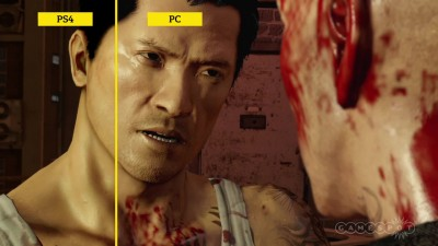 "Sleeping Dogs Definitive Edition ""Сравнение графики с разных версий"""
