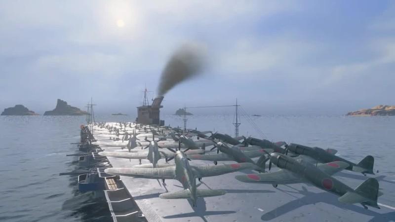 Теперь World of Warships еще и про самолеты Наконец новые авианосцы