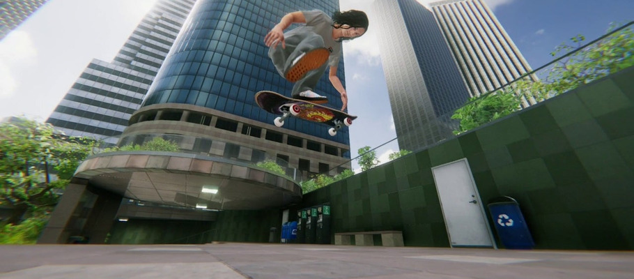 Новый трейлер Skater XL рассказывает о технологии сканирования и переноса реальных объектов в игру