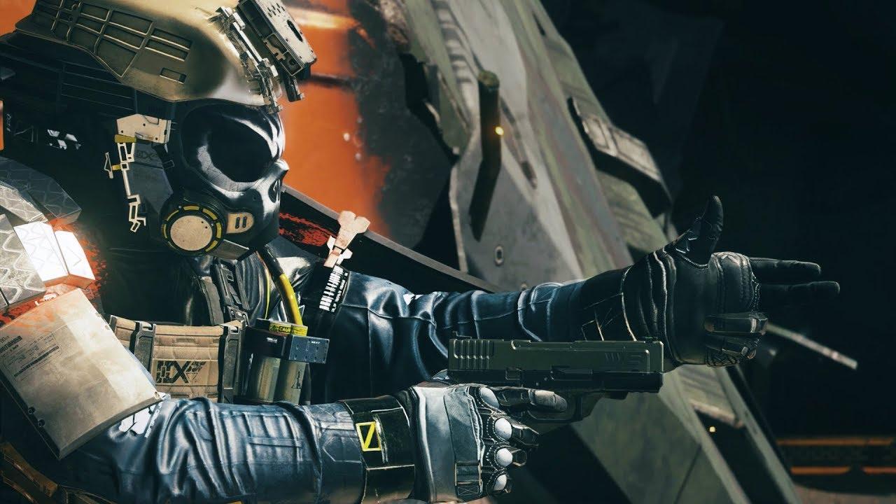 В Call of Duty: Infinite Warfare тоже начали праздновать Хэллоуин