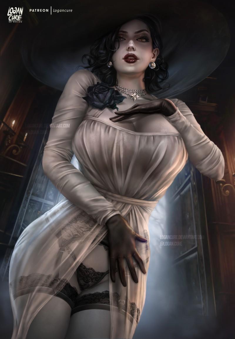 От голых ведьм к гигантской женщине: арты и детали создания Леди Димитреску из Resident Evil Village