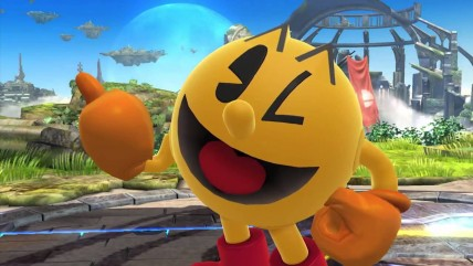 Из-за бага в Super Smash Bros. боец Pacman непобедим