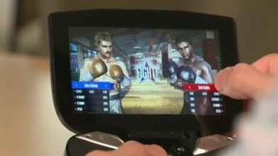 "Real Boxing ""Демо на Nvidia Project Shield"""