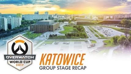 Overwatch - Обзор группового этапа Чемпионат мира 0017 в Катовице