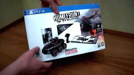 Распаковка коллекционного издания Homefront: The Revolution / Goliath Edition