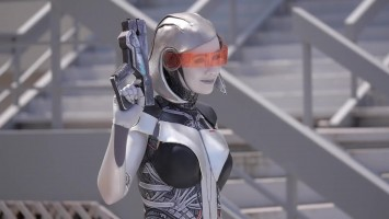 "Mass Effect 3 ""EDI Cosplay"""