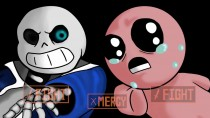 Санс vs Айзек (Undertale - The Binding of Isaac Анимация )