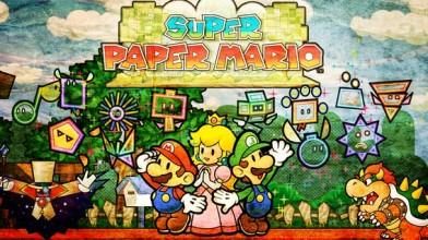 Первые 69 минут Super Paper Mario, теперь доступной и на Wii U
