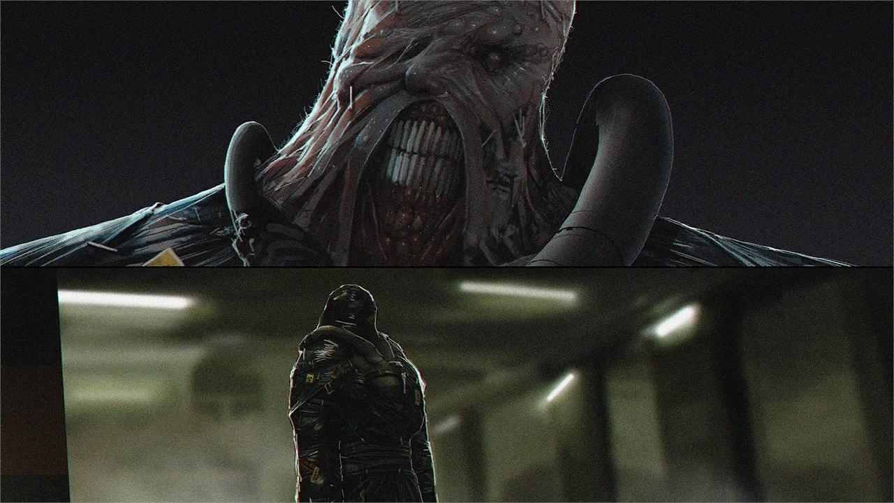 Новый официальный концепт-арт ремейка Resident Evil 3