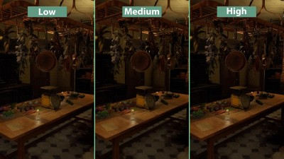 Layers of Fear - Сравнение PC Low vs. Medium vs. High