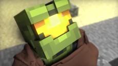 """Minecraft """"Трейлер Halo 5"""""""