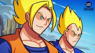 Dragon Ball Z VS Marvel Супергерои - Что делать, если битва [ DBZ Пародия ]
