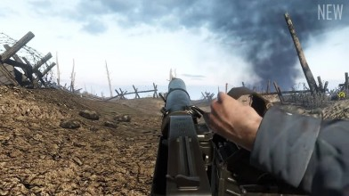 Verdun - Старое против нового (звуки оружия)