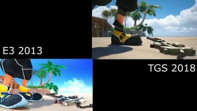 Kingdom Hearts 3 - сравнение одного и того же фрагмента из трейлеров cE3 2013иTGS 2018