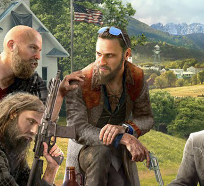 1-ый постер Far Cry 5