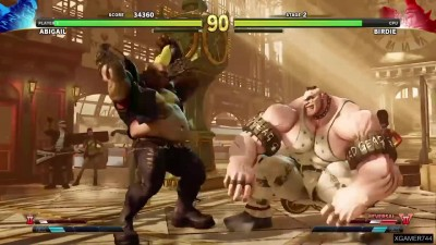 Street Fighter 5 - Abigail Arcade Mode