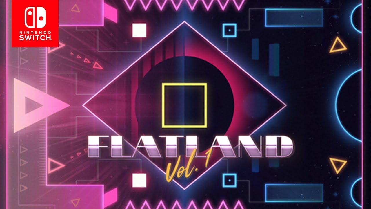 Запасайтесь ромашкой - хардкорный платформер Flatland Vol.1 вышел на Nintendo Switch