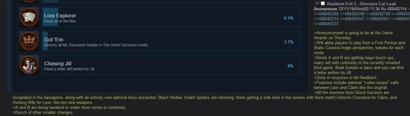 Примечательно то, что данный скриншот с раскрытыми подробностями достижения и текст, были опубликованы до того, как оно стало доступно для просмотра всем пользователям Steam.